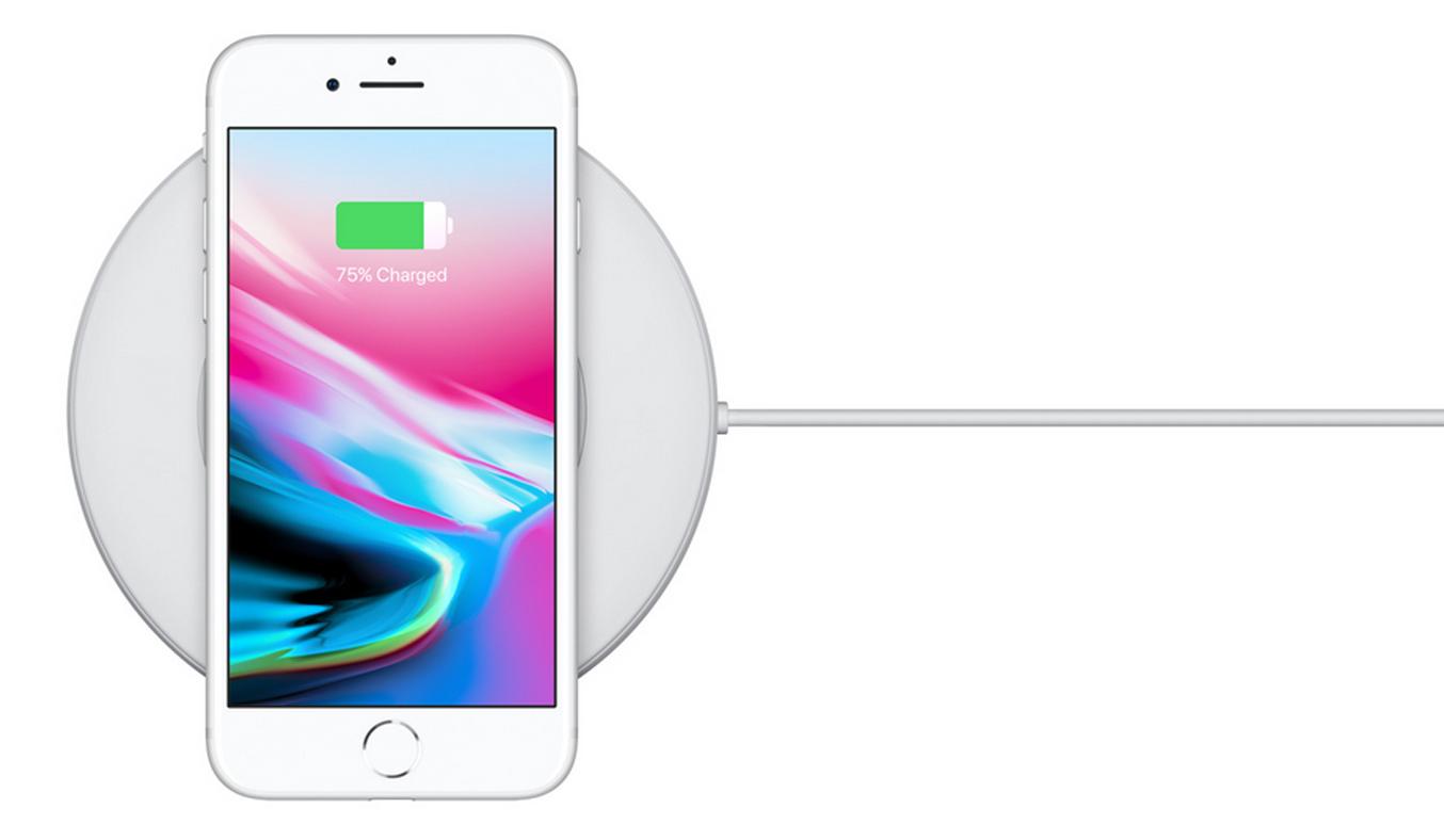 Điện thoại di động iPhone 8 Plus 64GB Gold công nghệ sạc không dây hiện đại
