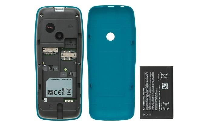 Điện Thoại Nokia 110 DS Xanh - Pin sử dụng nhiều ngày