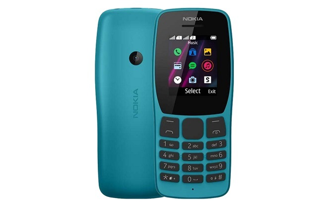 Điện Thoại Nokia 110 DS Xanh - nhỏ gọn, đơn giản