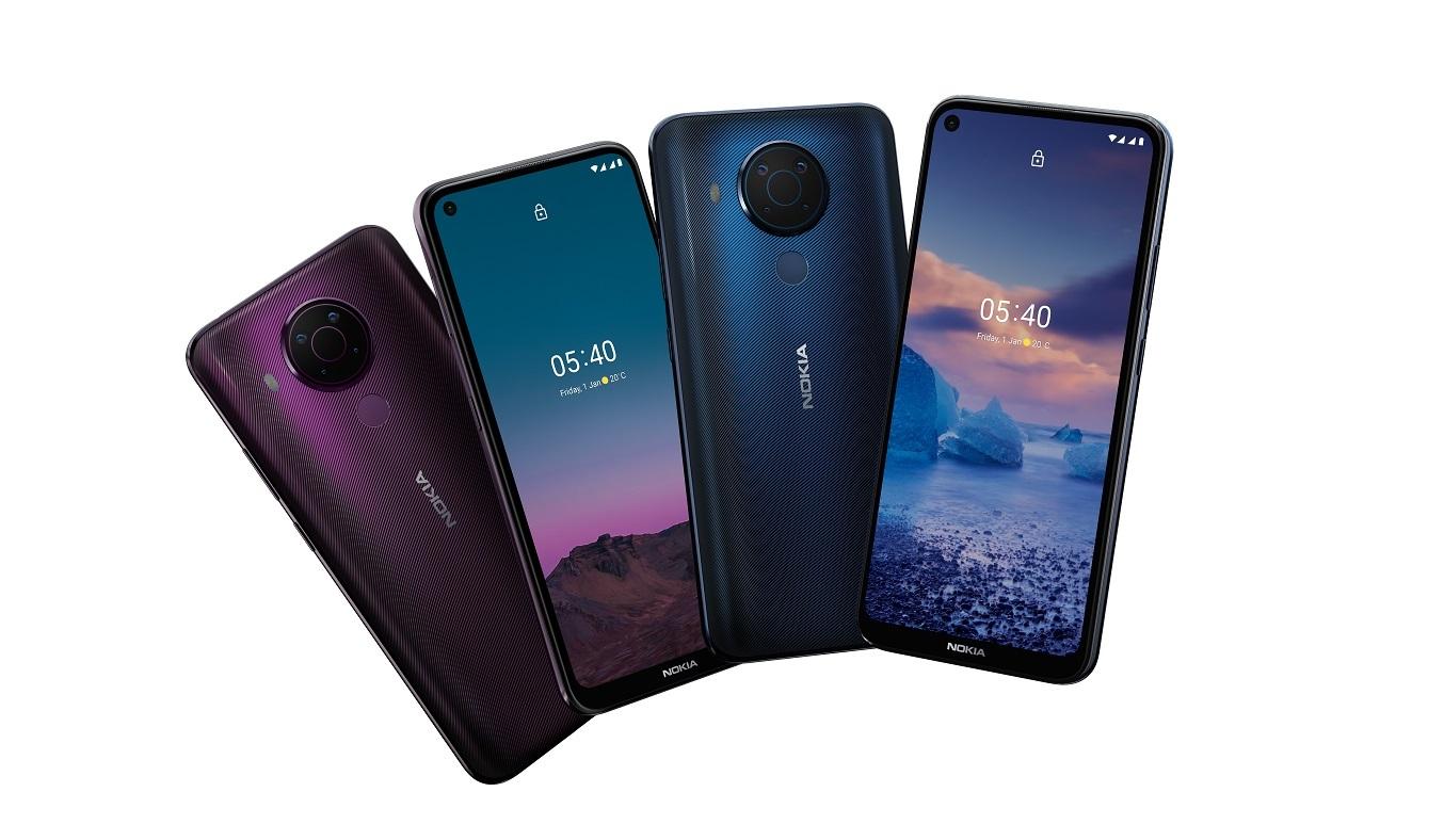 Điện thoại Nokia 5.4 Xanh - Cụm 4 camera sau