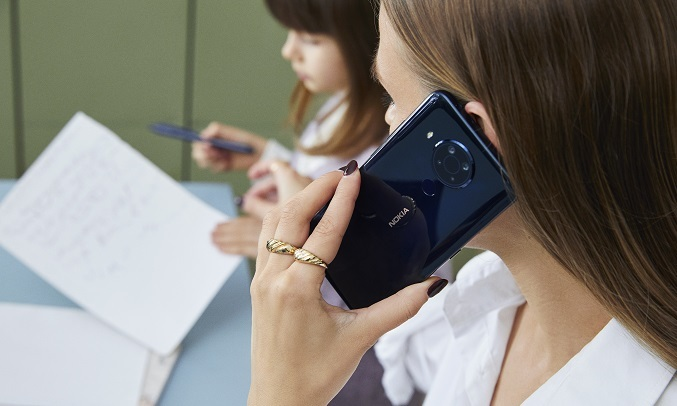 Điện thoại Nokia 5.4 Xanh - Pin dung lượng 4000mAh