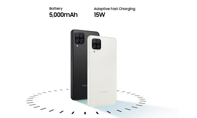 Điện thoại Samsung Galaxy A12 4GB/128GB Trắng - Dung lượng pin 5000mAh