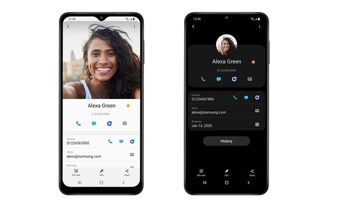 Điện thoại Samsung Galaxy A12 128GB Xanh - Chế độ ban đêm