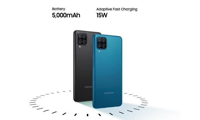 Điện thoại Samsung Galaxy A12 128GB Xanh - Dung lượng pin 5000mAh