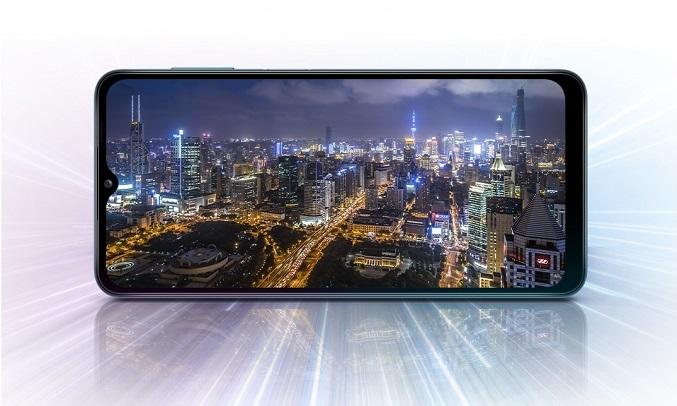Điện thoại Samsung Galaxy A12 128GB Xanh - Hiệu năng mạnh mẽ