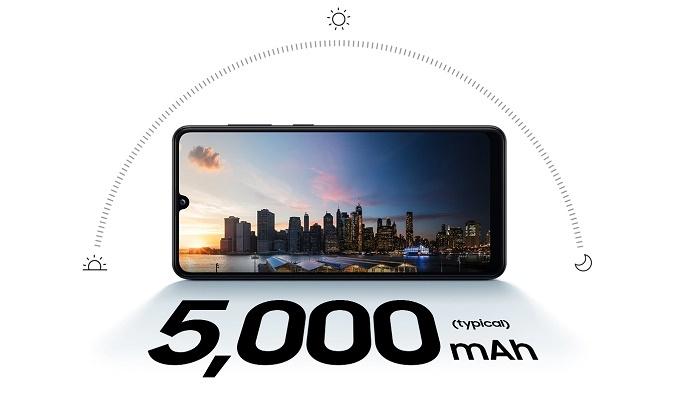 Điện thoại Samsung Galaxy A31 Đen dung lượng pin kéo dài