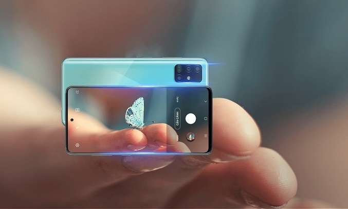 Samsung Galaxy A51 128GB xanh