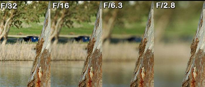 Độ mờ ảo của khung cảnh và độ căng nét của chủ thể sẽ càng tăng nếu con số tượng trưng cho khẩu độ càng nhỏ