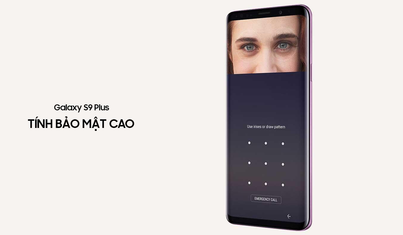 Samsung Galaxy S9 Plus tím khả năng bảo mật cao