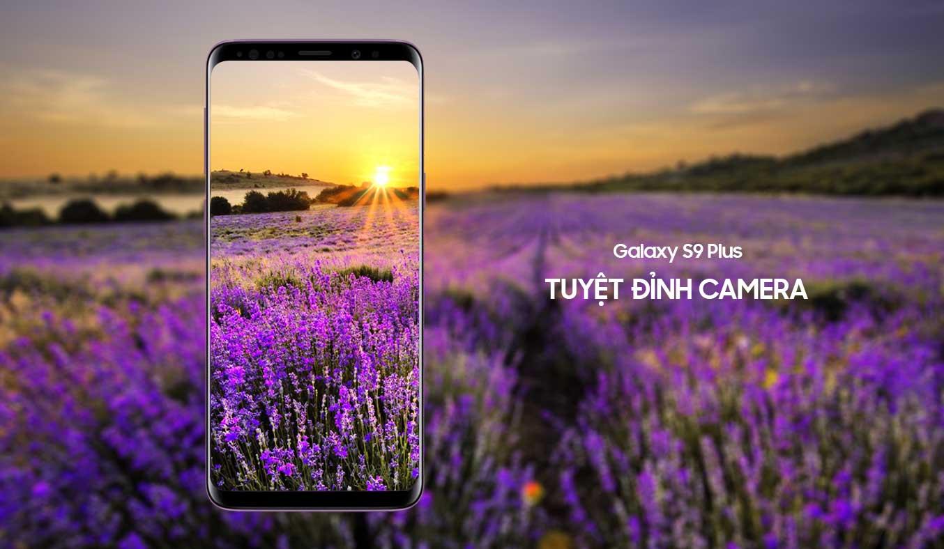 Samsung Galaxy S9 tím camera chụp ảnh siêu nét