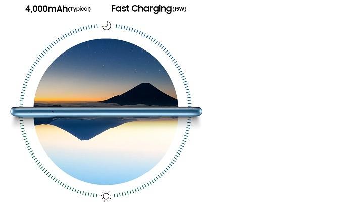 Điện thoại Samsung Galaxy A11 Trắng