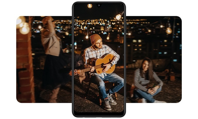 Điện thoại Samsung Galaxy A22 6GB/128GB Xanh - Camera chống rung quang học