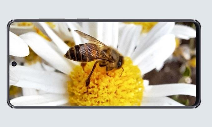 Điện thoại Samsung Galaxy A71 Bạc độc đáo