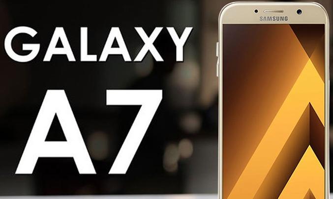 Samsung Galaxy A7 (2017) vàng sắc nét