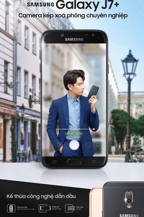 Cuối cùng Samsung cũng đã trình làng thị trường Việt Nam chiếc điện thoại chụp hình xóa phông ấn tượng trong phân khúc tầm trung