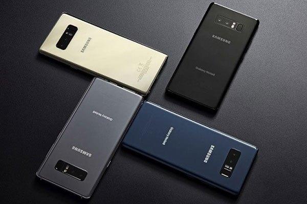 Những phiên bản màu của Galaxy Note 8 được trình làng vừa qua
