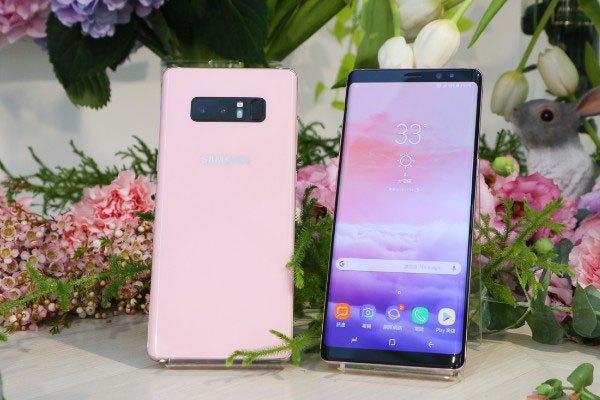 Siêu phẩm Galaxy Note 8 hồng nữ tính vừa được tung ra đã gây sốt cộng đồng công nghệ