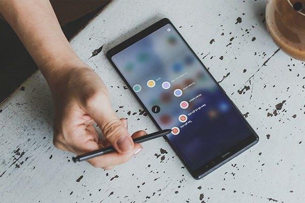 S Pen là nhân tố thiết yếu tạo nên sự hoàn thiện cho dòng điện thoại Galaxy Note