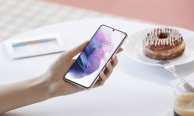 Điện thoại Samsung Galaxy S21 Plus 5G 8GB/256GB Bạc - Màn hình vô cực Infinity-O
