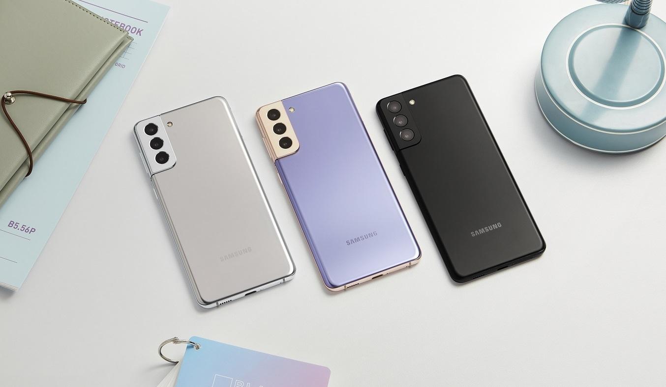 Điện thoại Samsung Galaxy S21 Plus 5G 8GB/256GB Bạc - Thiết kế thời thượng