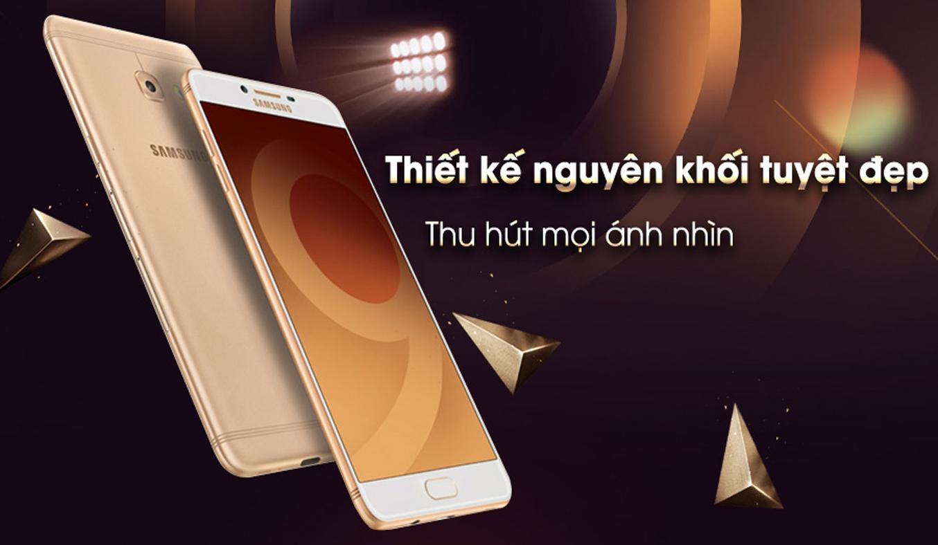 Samsung Galaxy C9 Pro Vng Chnh Hng Gi Tt Ti Nguyn Kim C900 In Thoi Mu Thit K Hin I