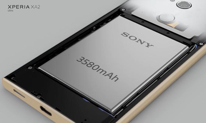 Điện thoại Sony Xperia XA2 Ultra màu vàng hiệu năng mượt mà