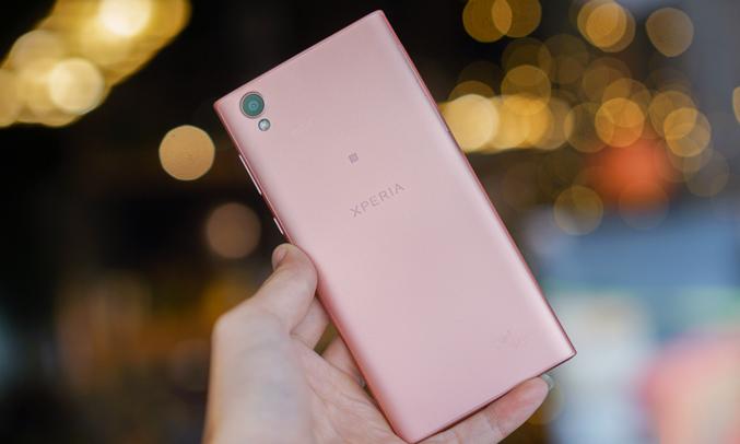 Điện thoại Sony Xperia L1màu hồng cấu hình mạnh mẽ