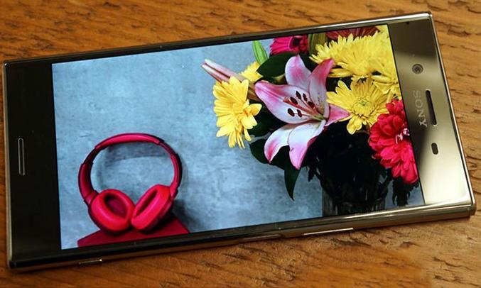 Điện thoạiSony Xperia XZ Premium màu chrome âm thanh cực đỉnh