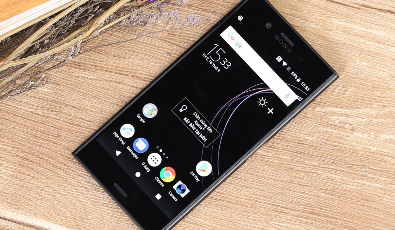 Điện thoại di độngSony Xperia XZ1 siêu mỏng