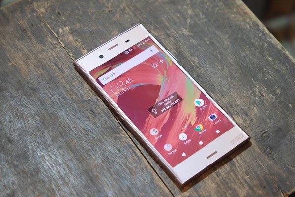 Sony Xperia XZ1 phiên bản màu hồng cuốn hút