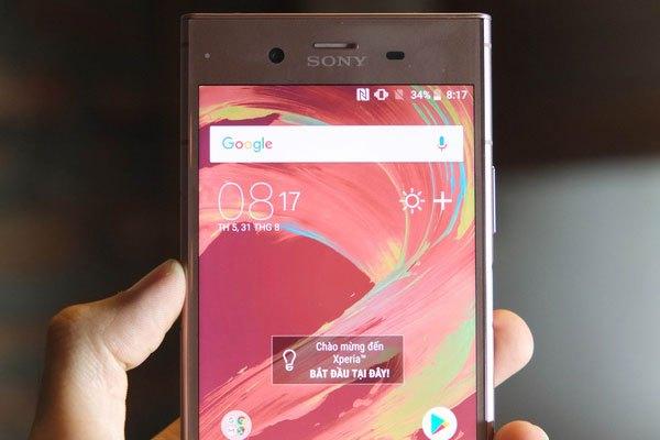 Màn hình Sony Xperia XZ1 không có bất kì nâng cấp nào so với phiên bản XZs và XZ