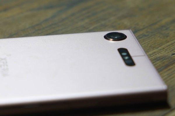Camera của Sony Xperia XZ1 được thiết kế lồi