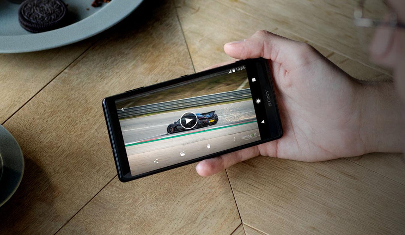 Điện thoại Sony Xperia XZ2 màu bạc chính hãng