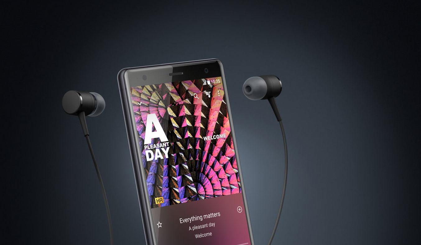 Điện thoại Sony Xperia XZ2 màu bạc hiện đại