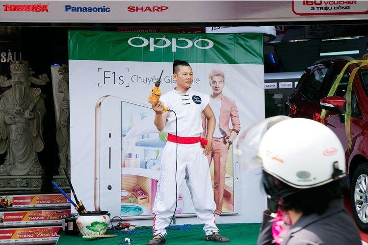 Điện thoại OPPO F1s màn hình kích thước 5.5 inches