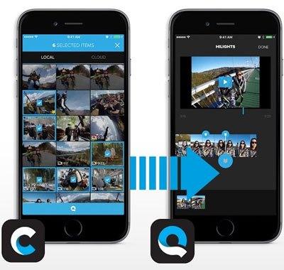 Thường chỉnh video bằng điện thoại, ứng dụng Quick giúp bạn chỉnh sửa một cách tự động