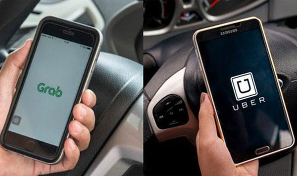 Ứng dụng Uber và Grab chắc không thể nào quen thuộc hơn đúng không nào