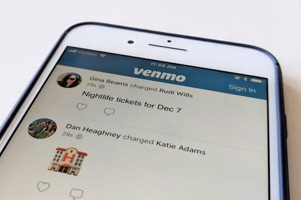 Venmo - ứng dụng chuyển tiền