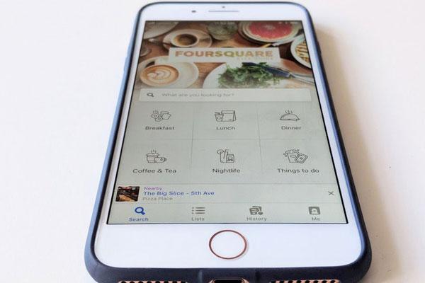 Foursquare là ứng dụng đánh dấu địa điểm được phổ biến nhiều nhất trên cộng đồng mạng xã hội.
