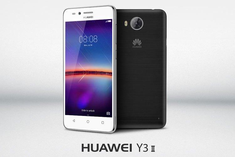 Điện thoại Huawei Y3II hiệu năng hoạt động ổn định