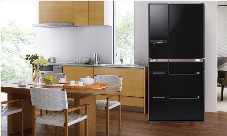 Thiết kế sang trọng, đẳng cấp của tủ lạnh Hitachi R-C6800S giúp tôn lên vẻ hiện đại cho căn bếp nhà bạn