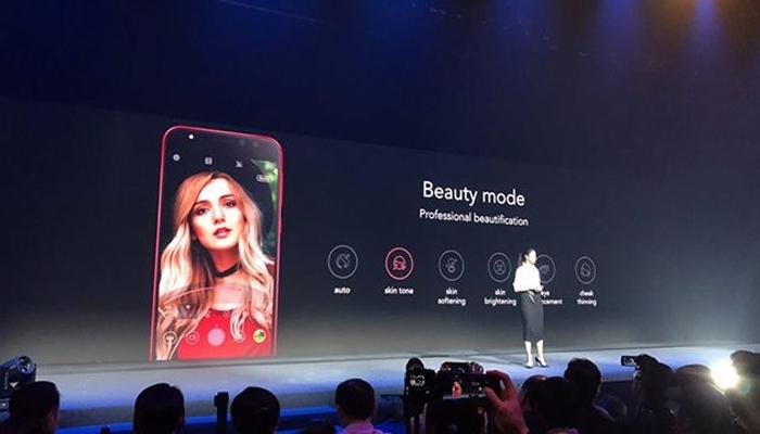 """Công cụ Beauty Mode chuyên nghiệp trên điện thoại ASUS ZenFone 4 cho bức ảnh thêm """"ảo diệu"""""""