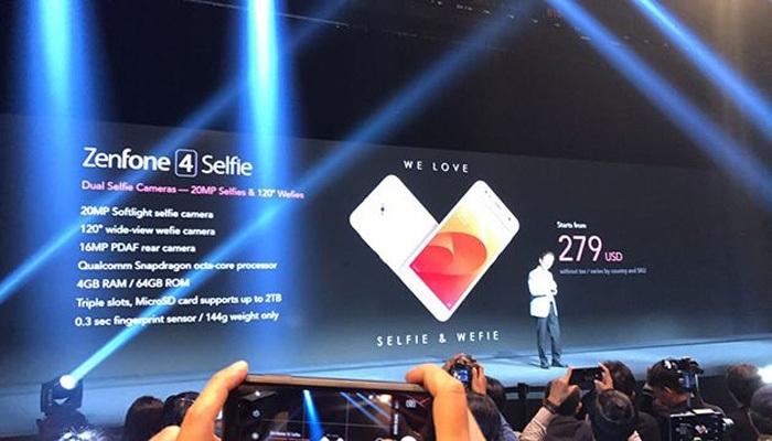 Điện thoại ASUS ZenFone 4 Selfie có độ phân giải camera thấp hơn nhưng không hề kém cạnh ZenFone 4 Selfie Pro