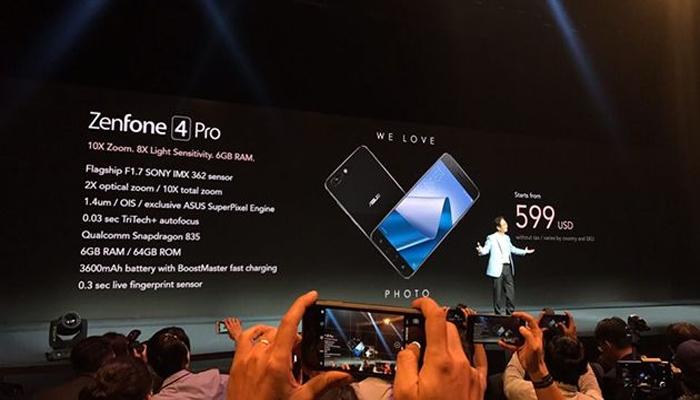 ASUS ZenFone 4 Pro - smartphone cao cấp làm nóng lòng fan công nghệ