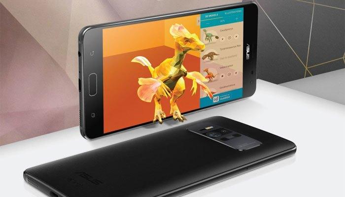 Điện thoại ASUS Zenfone 3 AR trang bị bô nhớ RAM kỷ lục 8GB