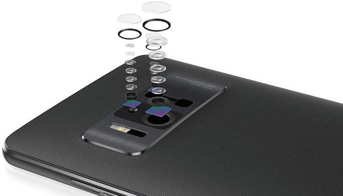 Hệ thống 3 camera trên điện thoại ASUS Zenfone 3 AR