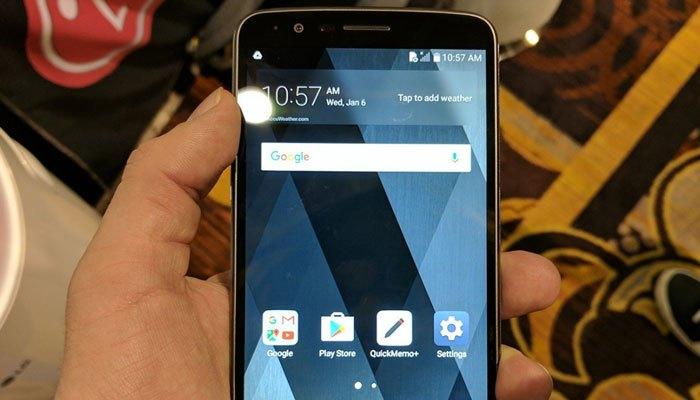 Điện thoại LG mới thiết kế sang trọng