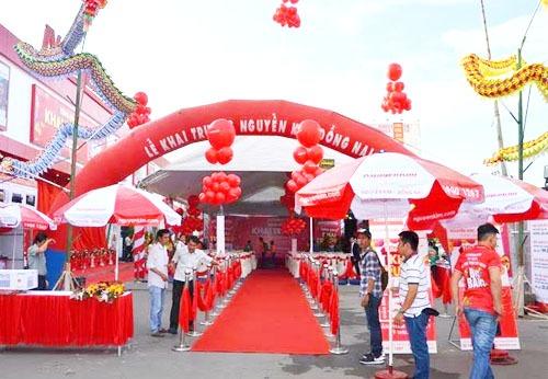Nguyễn Kim khai trương trung tâm mua sắm mới tại Bình Dương