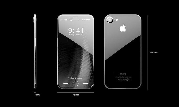 """Điện thoại iPhone 8 sẽ có bản """"premium"""" với màn hình OLED"""