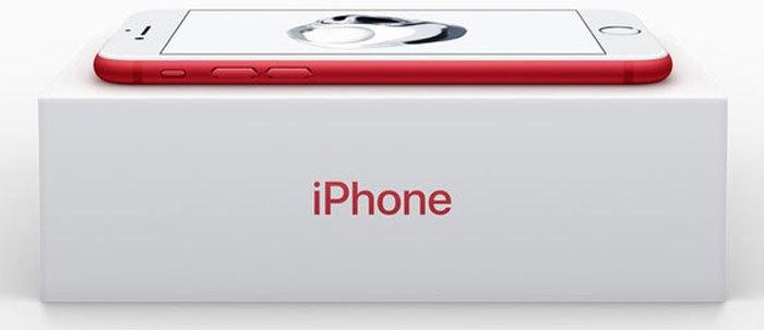 iPhone 7 đỏ khiến nhiều người thích thú